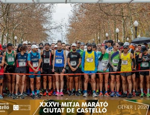 El agua no pudo con la XXXVI Mitja Marató de Castelló – Memorial Isabel Martínez